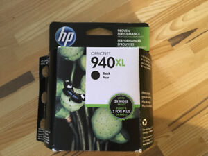 NEW! HP OfficeJet 940XL High Yield Black Printer Ink