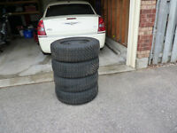 Chrysler 300 snow tires and rims