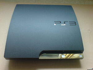 Sony PS3 Slim with 4 games (Perfect Condition)
