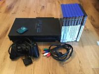 Ps2 Console And rockstar games bundle