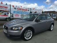VOLVO C30 1.6 2007/57 S **LOW 29,443 MILES **8 MAIN DEALER STAMPS **HEATED/SEATS