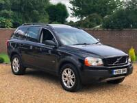 2006 06, Volvo XC90 2.4TD D5 ( 185bhp ) AWD Geartronic SE + 7 SEATS + LEATHER
