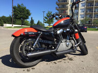 Harley Davidson Sporsters Nightster from 2008 (Black/Orange)