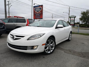 2010 MAZDA6 GT - AUTO – 4 CYLINDRES – CUIR - TOIT - FINANCEMENT