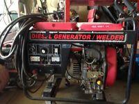 Honda Diesel Welder Generator