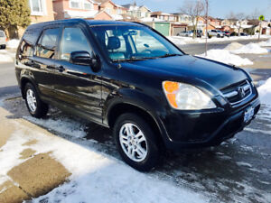 2004 Honda CR-V all wheel drive $5000