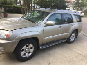2003 Toyota 4Runner LTD V8 4.7 with all options in perfect shape