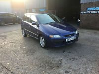 2003 53 MITSUBISHI SPACE STAR 1.6 EQUIPPE, SAT NAV, HATCHBACK,ONLY 68000 MILES