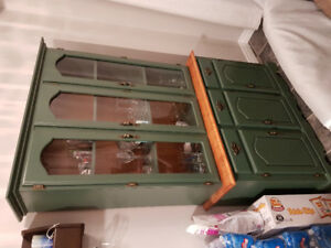 Solid Wood Kitchen, and Dining Room Hutch