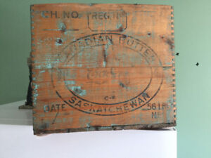 ANTIQUE BUTTERBOX  CO-OP BRAND  VERY RARE