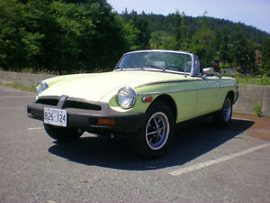 1977 MGB reduced price