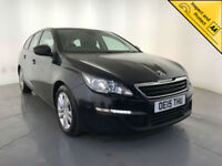2015 PEUGEOT 308 ACTIVE SW HDI BLUE DIESEL ESTATE 1 OWNER SERVICE HISTORY
