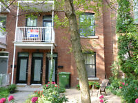 Available immediately.Large, bright, renovated 3 bedroom in NDG