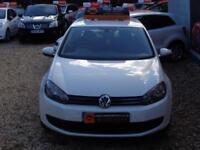 VOLKSWAGEN GOLF MATCH 1.6 TDI BLUEMOTION 5dr White Manual Diesel, 2012
