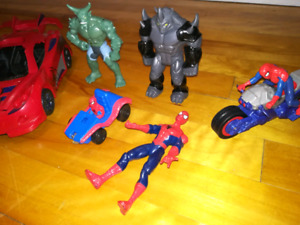 Lot jouets Spiderman