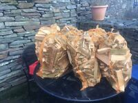 Large bags of kindling