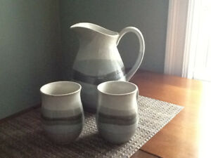 Glazed Pottery Set
