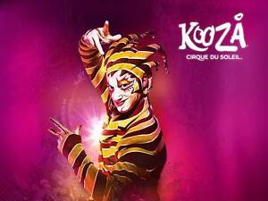 2x Cirque Du Soleil Kooza Tickets – Melbourne 9 Feb 2017 Carlton Melbourne City Preview