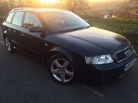 2004 Audi A4 SPORT 1.9 TDI AVANT ESTATE 6 speed 130 bhp # leather # sunroof # 2 owners # s/history