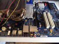 Parts to build computer quad core intel