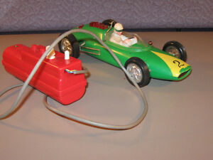 Battery-Op Remote Control Ford Lotus Toy Marx RC 1960s Formula 1