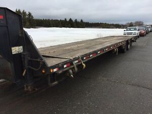 Trailer flat bed max Load 31+5.6pieds