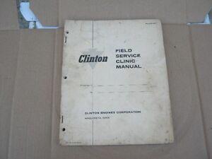 CLINTON SMALL ENGINE MANUAL