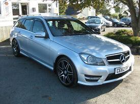 2012/62 Mercedes-Benz C250 CDI AMG Sport Plus (Map Pilot) Auto 7G-Tronic Estate