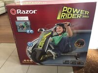 Electric razor power 360 new