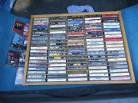 A VERY NICE COLLECTION OF CASSETTES