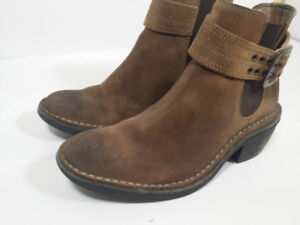 FLY LONDON - Suede - bottes femme taille 6 ou 37