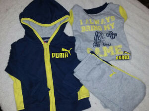Baby boy clothes sizes newborn to 2T