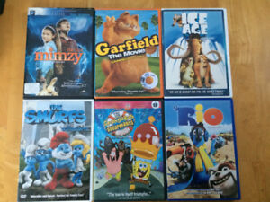 Children's movies DVDs Films pour enfants