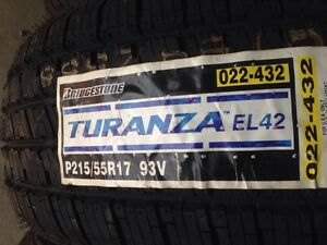 4 brand new 215/55/17 Bridgestone turanza all season Kitchener / Waterloo Kitchener Area image 2