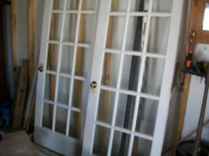 2 french doors for sale