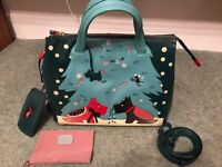 "New Radley ""under the mistletoe"" limited edition bag"