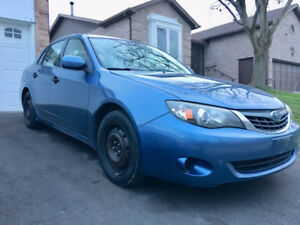 2008 Subaru Impreza Subaru Blue Clean car No Accidents Certified