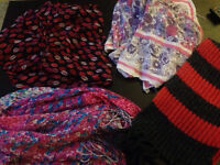 Scarves. Need gone ASAP