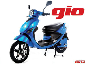 GIO ITALIA MK & PREMIUM ELECTRIC SCOOTERS NOW AT OUTBACK