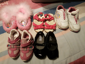 Girls shoes size 5 and 5 n a half