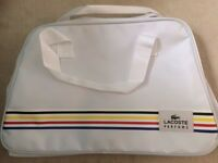 Lacoste sports bag new and unused