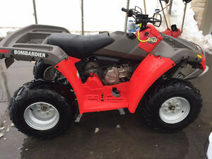 bombardier rally 200 cc automatique