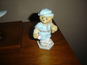 Cherished Teddy baseball player
