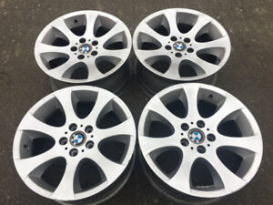 """Set of Genuine OEM BMW 18"""" rims style 162 in good used condition"""