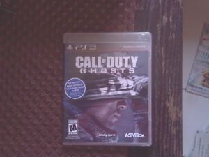 Jeu Playstation 3 Call of Duty Ghost   10$