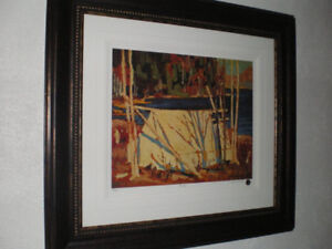 'The Tent', Original Print from Group of 7 Artist Tom Thomson