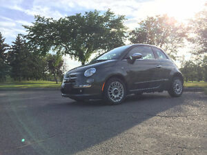 2012 Fiat 500 Lounge Coupe (2 door)
