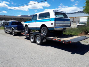 Need a Car or Truck Hauled to B.C. or Back to Alberta?