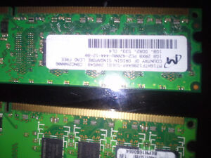 RAM DDR2 1GB × 2 FOR SALE BEST OFFER London Ontario image 2