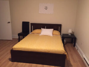 Room apartment for rent, furnished. Close to downtown.